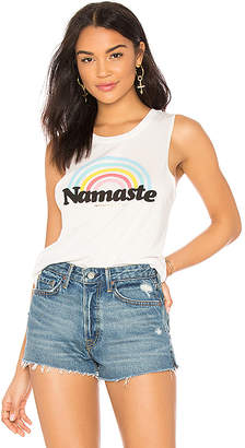 Spiritual Gangster Namaste Rainbow Muscle Tank