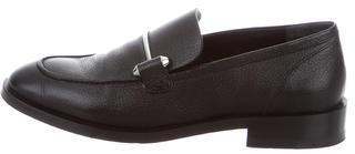 Balenciaga Balenciaga Leather Round-Toe Loafers