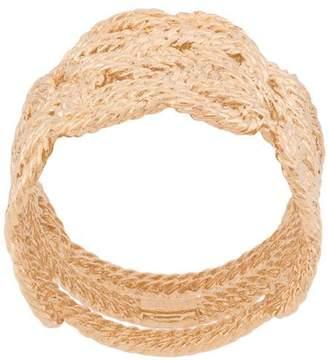 Aurelie Bidermann braided woven ring