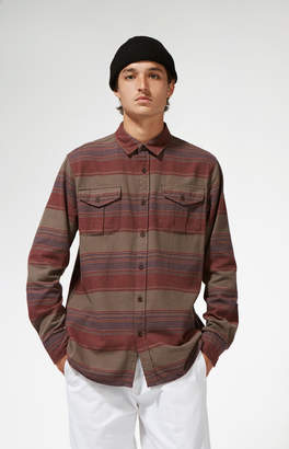 Katin Owen Stripe Flannel Long Sleeve Button Up Shirt