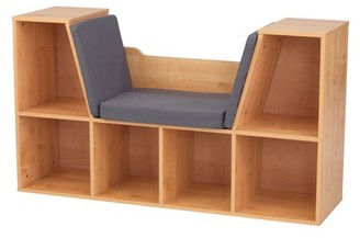 Kid Kraft Bookcase with Reading Nook - Natural