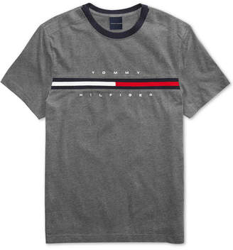 Tommy Hilfiger Adaptive Men Tino T-Shirt with Magnetic Closure at Shoulders