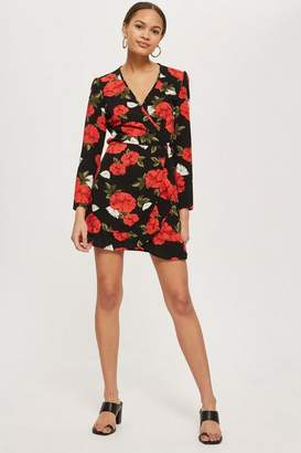 Oh My Love **Printed Wrap Dress