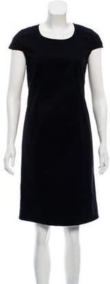 RED Valentino Cap Sleeve Shift Dress