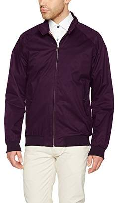 Ben Sherman Men's Core Harrington Jacket, Red (Royal Wine 580), L