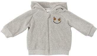 Stella McCartney Happy Bee Chenille Sweatshirt Hoodie