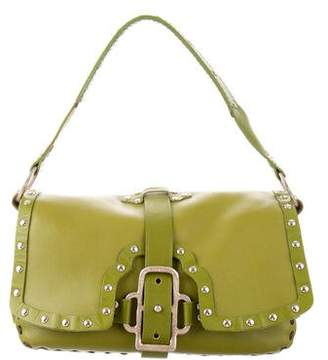 Jimmy Choo Leather Studded Bag