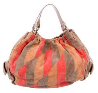 Marc by Marc Jacobs Patchwork Leather Hobo