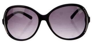 Fendi Gradient Zucca-Trimmed Sunglasses