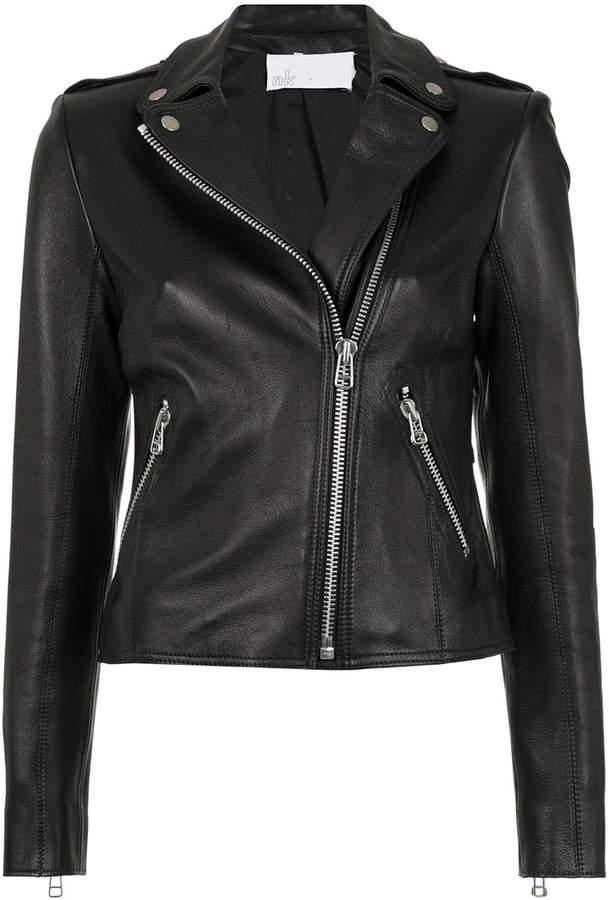 Nk leather jacket