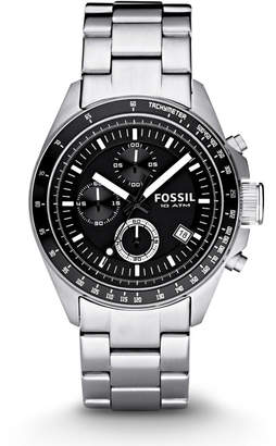 Fossil Decker Chronograph Stainless Steel Watch