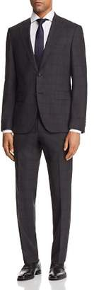 BOSS Johnstons/Lenon Regular Fit Plaid with Windowpane Suit - 100% Exclusive