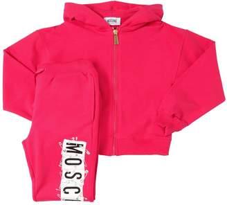 Moschino Safety Pin Logo Sweatshirt & Sweatpants