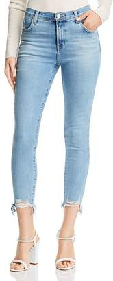 J Brand Alana Crop Skinny Jeans in Teardrop