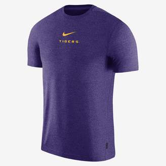 Nike Men's Short-Sleeve Top College Dri-FIT Coach (LSU)