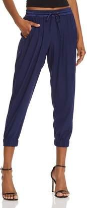 Ramy Brook Silk Jogger Pants
