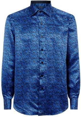 Stefano Ricci Silk Paisley Shirt