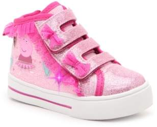 Peppa Pig Light-Up High-Top Sneaker - Kids'