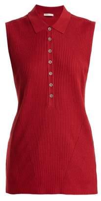 Falke Golf ribbed-knit sleeveless top