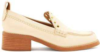 See by Chloe Stacked heel leather loafers