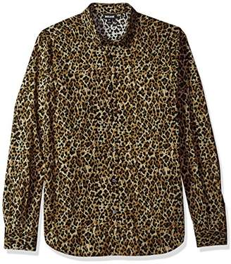 Just Cavalli Men's Wild Print Shirt