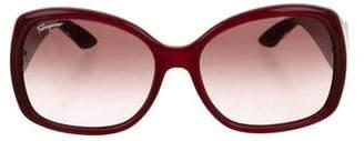 Salvatore Ferragamo Square Oversize Sunglasses w/ Tags