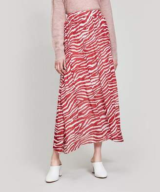 Isabel Marant oile Jonki Zebra Maxi-Skirt