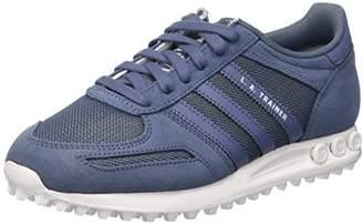 adidas Women's La Trainer Low-Top Sneakers, Blue Tech Ink/FTWR White, 36 2/3 EU