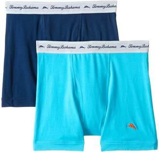 Tommy Bahama Solid Stretch Cotton Comfort Boxer Briefs 2-Pack Men's Underwear