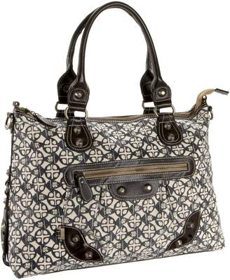 OiOi Safari Medallion Slouch Tote (japan import)