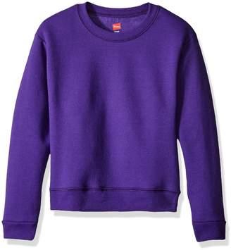 Hanes Big Girls' Comfortsoft Ecosmart Fleece Sweatshirt