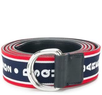 DSQUARED2 D-ring logo belt