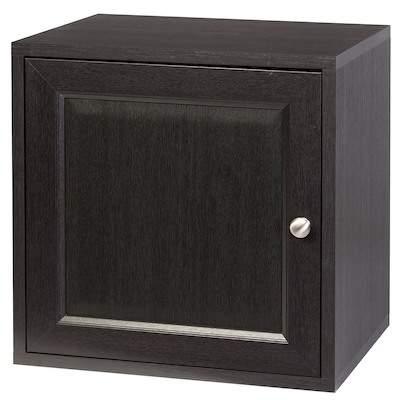 CREATIVE BATH The Cube With Wood Door - Espresso