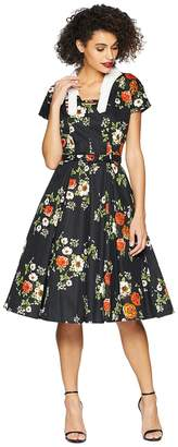 Unique Vintage Campbell Swing Dress Women's Dress