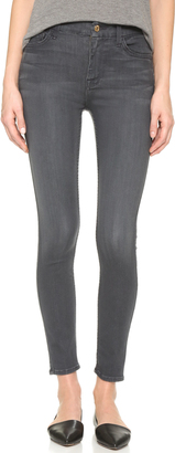 7 For All Mankind The High Rise Skinny Jeans $189 thestylecure.com