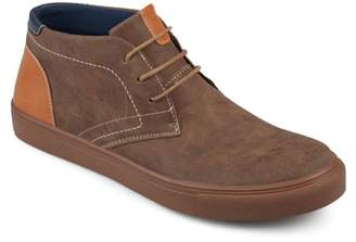 Territory Men's Lace-up Faux Leather Casual Chukka Boots