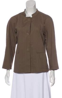 Lafayette 148 Casual Button-Up Jacket