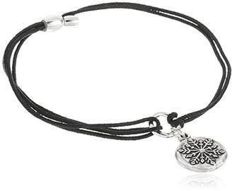 """Alex and Ani Kindred Cord"""" Snowflake Bracelet"""