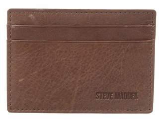 Steve Madden Mealu Leather Card Carrier Credit card Wallet