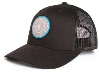Men's Travis Mathew 'Trip L' Trucker Hat - Black $29.95 thestylecure.com