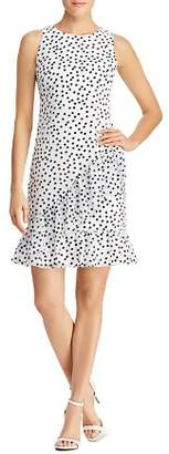 Ralph Lauren Ruffled Polka Dot Dress