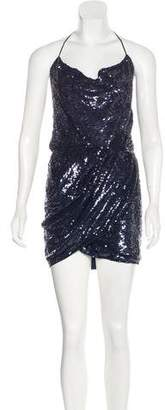 Haute Hippie Sequined Mini Dress w/ Tags