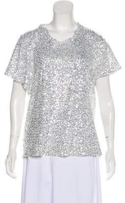 Diane von Furstenberg Sequin Embellished T-Shirt