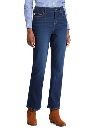 Chaps Flared Slim-Fit Jeans
