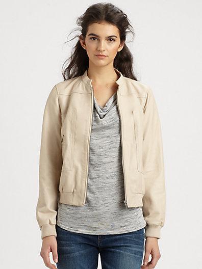 Joie Danica Leather Jacket