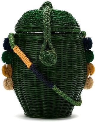 Serpui Marie Wanda straw bag