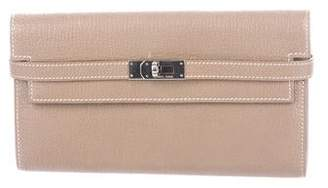 Hermes Chevre Mysore Kelly Longue Wallet