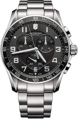 Victorinox Men's Mens Classic XLS Stainless Steel Chronograph Watch