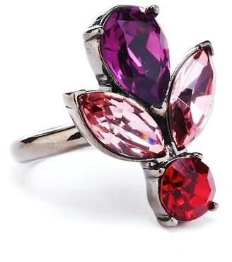 Oscar de la Renta Bold Teardrop Crystal Ring
