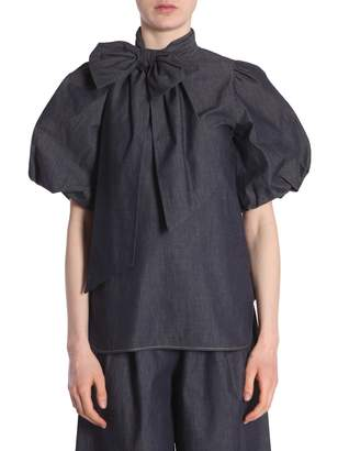 N°21 N.21 Blouse With Bow Details